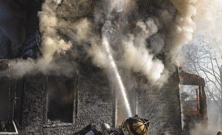 Fire Destroys Stony Point Home