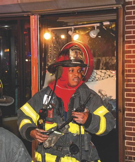 Up Close – Roosevelt Fire Department Captain Dawkins