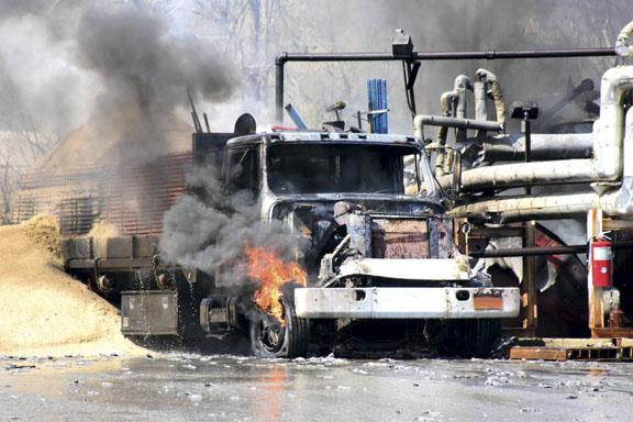 Explosion at Melville Asphalt Plant