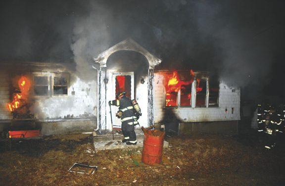 Suspicious Blaze in N. Providence