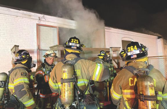 Wareham 3-Alarm Building Fire