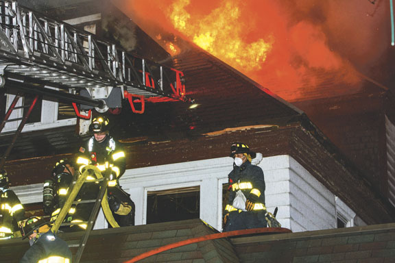 4- Alarm Lawrence Rectory Fire