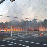 Massive Brush Fire in Lakewood Area