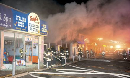 Commercial Fire in East Meadow