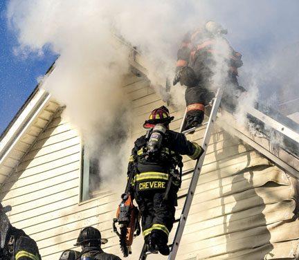 Heavy Fire in Haverstraw
