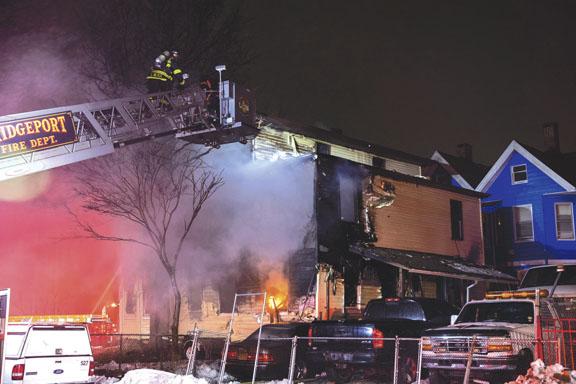 Bridgeport Vacant Dwelling Fire