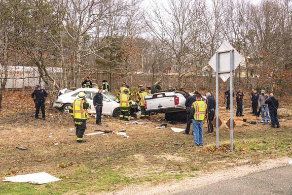 Car Crash in Shirley