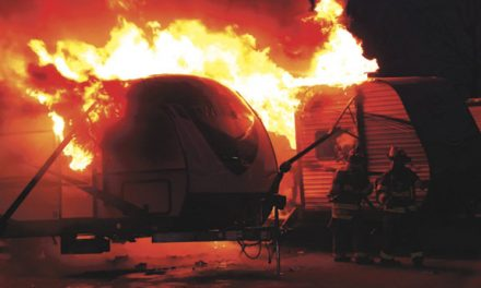 2 Trailers Destroyed in Albany Fire