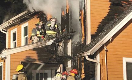 Firefighters Battle Fire at Home of Kingston Chief