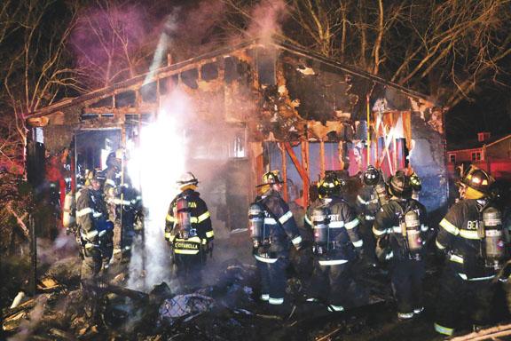 Hagerman House Fire