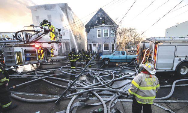New Haven Fire Extends