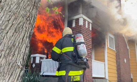 TWO FIREFIGHTERS INJURED 5 RESIDENTS DISPACLED IN INDIANAPOLIS BLAZE
