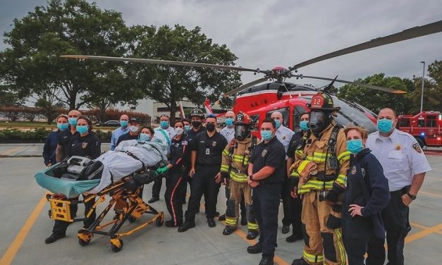TEXAS FIRE DEPARTMENT PARTICIPATES IN VIDEO PROJECT PRODUCED BY LOCAL HOSPITAL