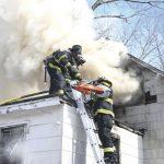 Neighbors Report Wyandanch Fire