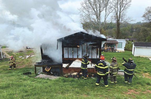 Sissonville Structure Fire