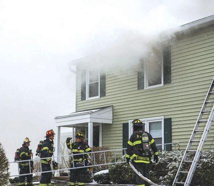 3-Alarm Condo Fire in Bushnell's Basin
