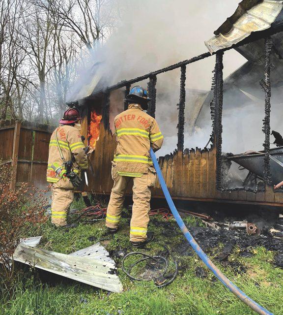 Reynoldsville Structure Fire
