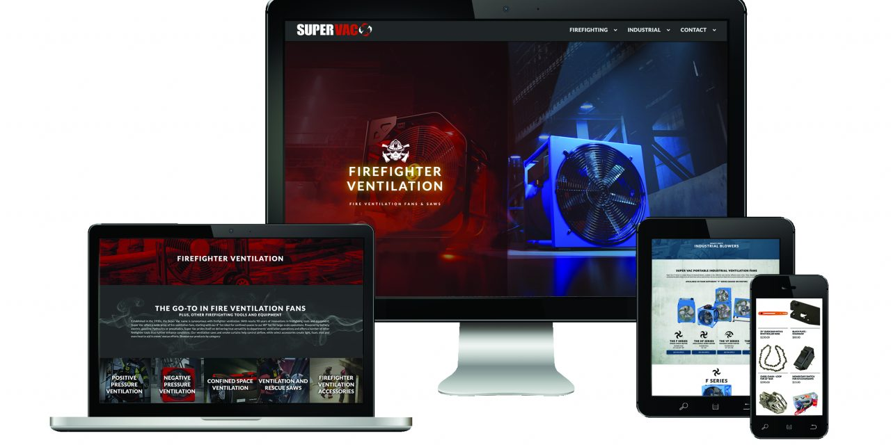 Super Vac Launches New Website Redesign to Showcase Full Line of Ventilation Equipment