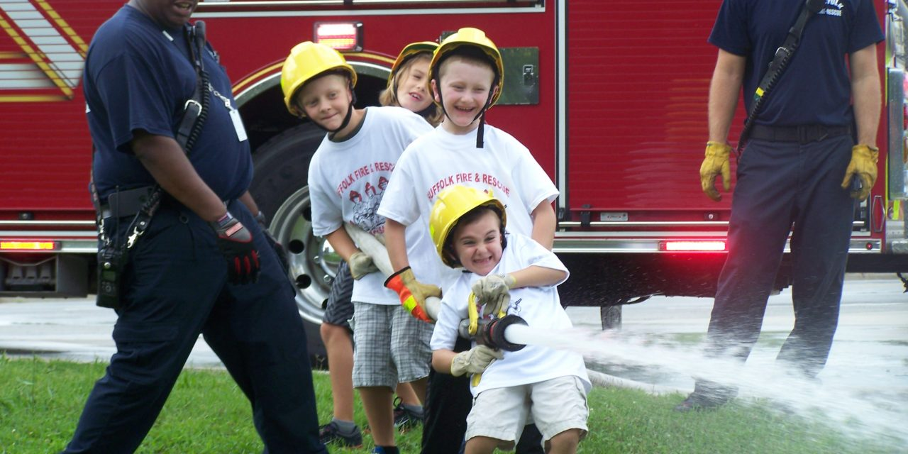 SUFFOLK FIRE & RESCUE (VA) SUMMER FIRE AND LIFE SAFETY CAMP