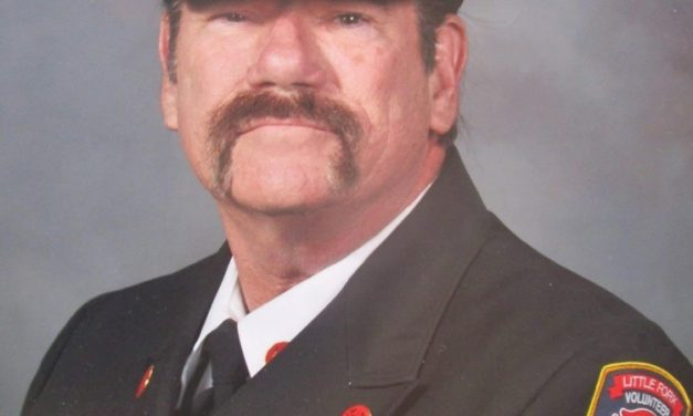 LITTLE FORK (VA) CHIEF DOUG MONACO NAMED VIRGINIA VOLUNTEER FIRE CHIEF OF THE YEAR
