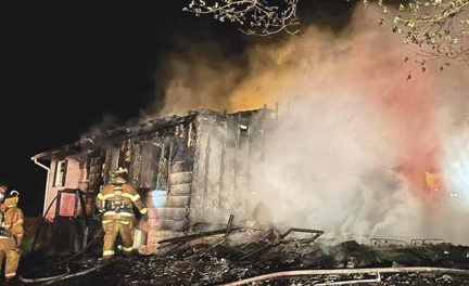 Early Morning House Fire in Laurel Park