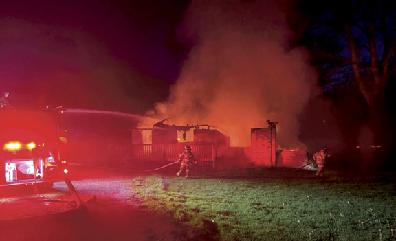 Kanawha County Blaze