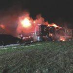 Anmoore Modular House Fire