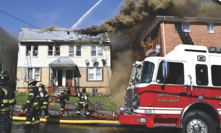 Collapse at Irvington 2-Alarmer