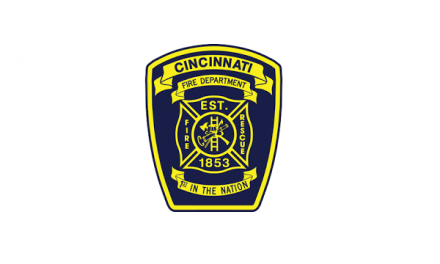 CINCINNATI FIREFIGHTERS RESCUE TRAPPED DOG FROM INSIDE A WALL