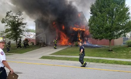 FIVE DISPLACED AFTER BLAZE GUTS INDIANA HOME