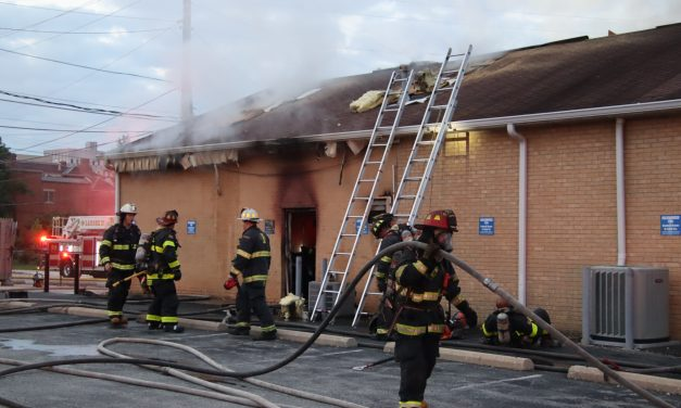 CREWS MAKE QUICK WORK OF INDIANA BUILDING FIRE
