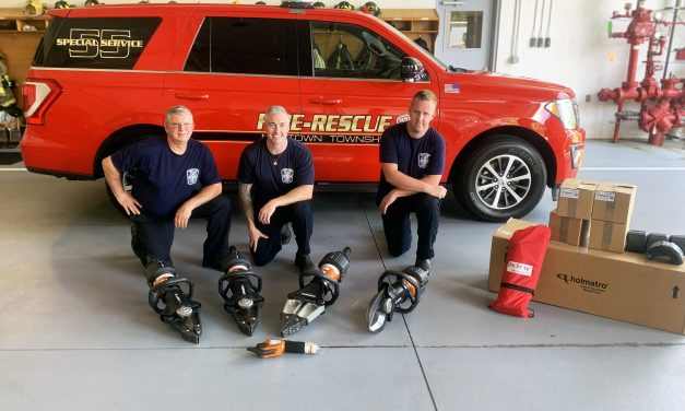NEW TOOLS DELIVERED TO NEWTOWN FIRE & EMERGENCY SERVICES
