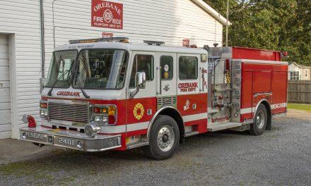 Orebank Volunteer Fire Department  (TN) Puts Donated Fire Engine Into Service