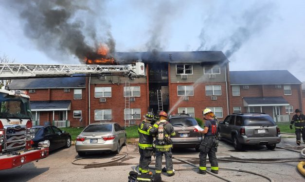 6 OCCUPANTS DISPLACED AFTER INDIANA APARTMENT BLAZE
