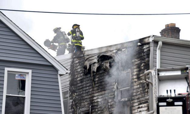 Irvington Structure Fire