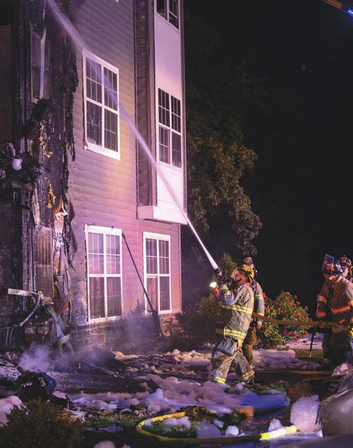 2nd Alarm Apartment Fire with 7 Rescues