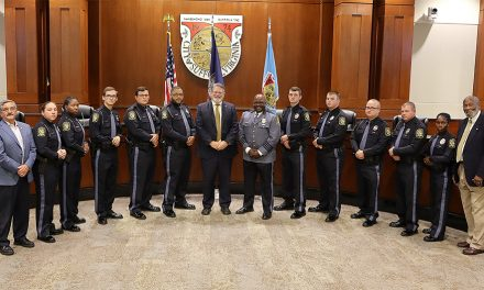 SUFFOLK POLICE (VA) WELCOME NEW OFFICERS AT BADGE PINNING