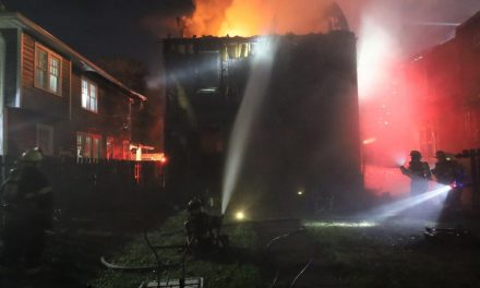 8 OCCUPANTS DISPLACED AFTER TWO INDIANAPOLIS HOMES BURN