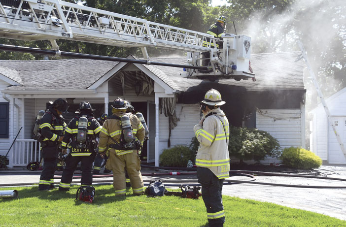 Fatality at West Islip Fire