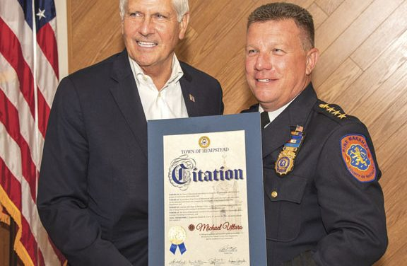 Uttaro Appointed New Chief Fire Marshall in Nassau