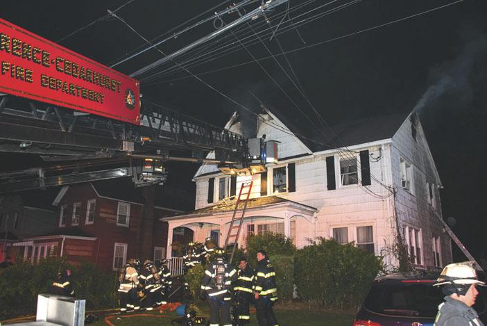 Lawrence-Cedarhurst Handles House Fire