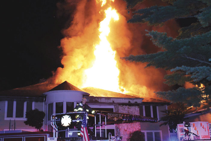 Syosset Fire Goes to 5 Alarms