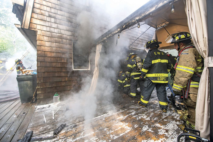 Springs House Fire