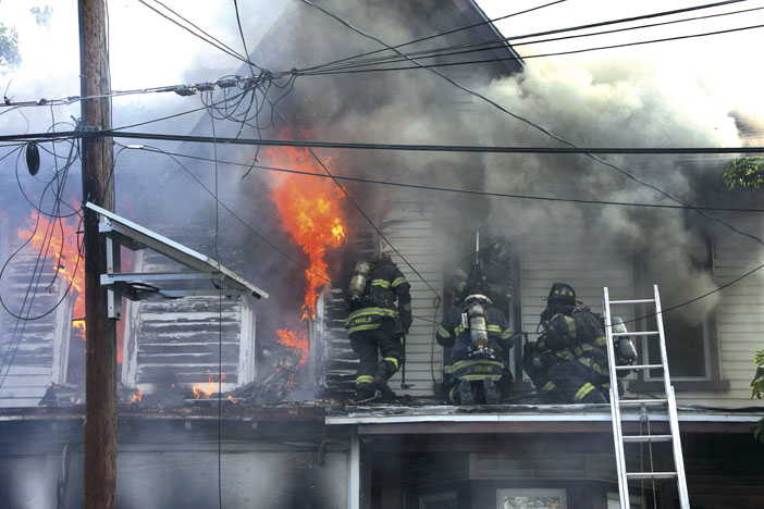 Trenton All-Hands Blaze
