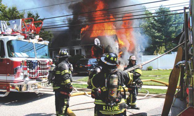 South Farmingdale House Fire
