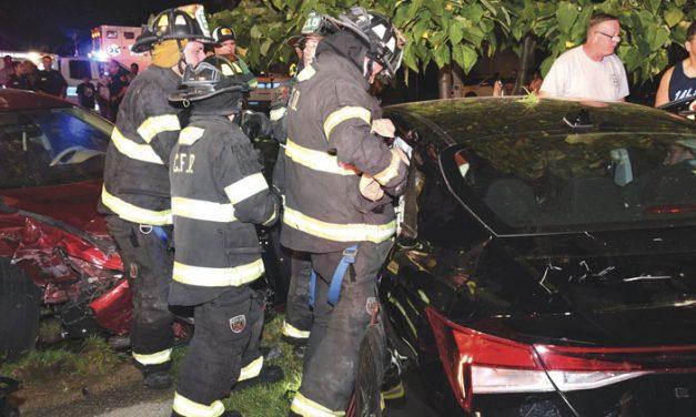 7 Injured in Copiague MVA