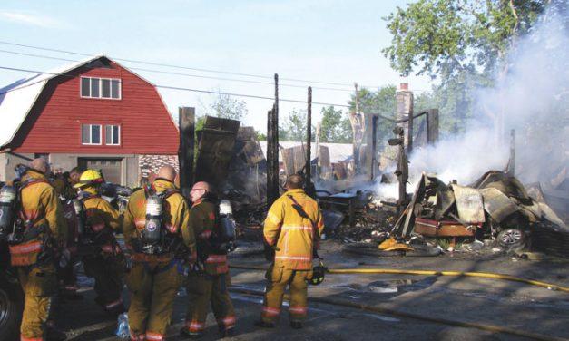 Explosion Felt in Schodack