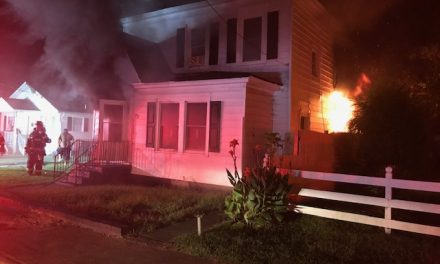 NINE ADULTS DISPLACED IN SUSPICIOUS APARTMENT BUILDING FIRE