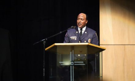 INDIANAPOLIS FIRE CHIEF PRESENTS BADGES TO 54 MEMBERS OF RECRUIT CLASS 86