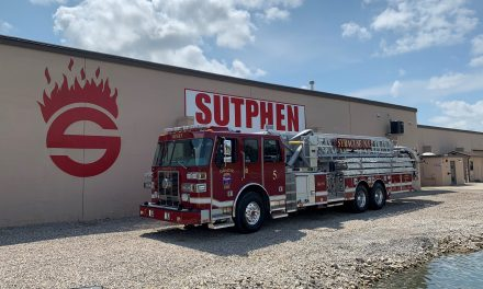 SYRACUSE (NY) TAKES DELIVERY OF NEW SUTPHEN TOWER LADDERS